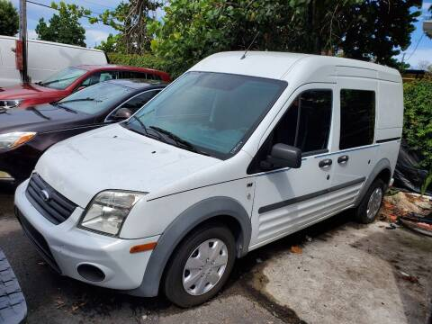 2010 Ford Transit Connect for sale at America Auto Wholesale Inc in Miami FL