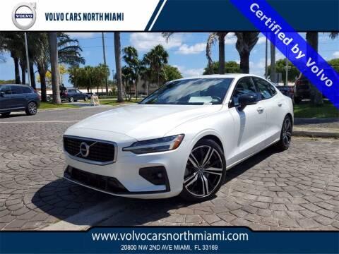 2019 Volvo S60 for sale at Volvo Cars North Miami in Miami FL