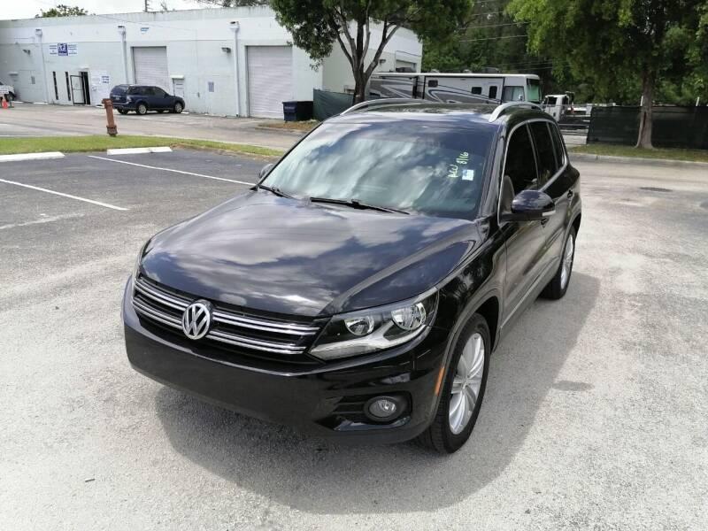 2014 Volkswagen Tiguan for sale at Best Price Car Dealer in Hallandale Beach FL