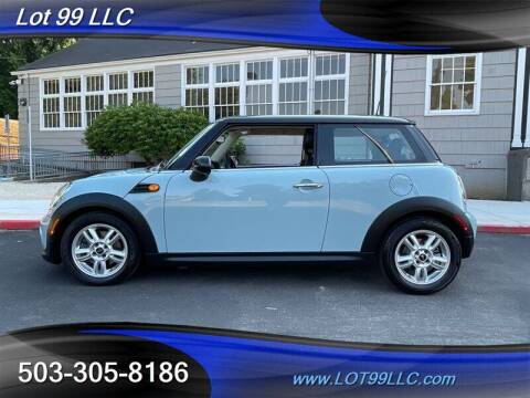2013 MINI Hardtop for sale at LOT 99 LLC in Milwaukie OR