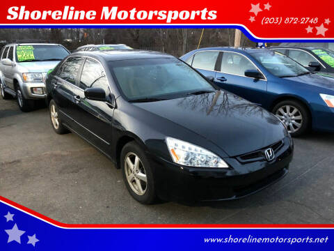 2004 Honda Accord for sale at Shoreline Motorsports in Waterbury CT