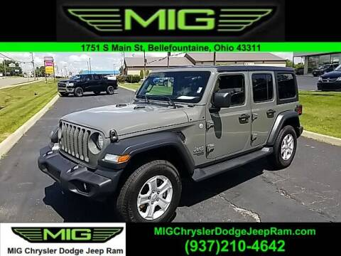 2020 Jeep Wrangler Unlimited for sale at MIG Chrysler Dodge Jeep Ram in Bellefontaine OH