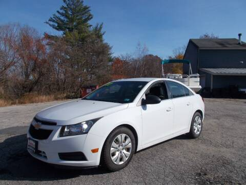 2012 Chevrolet Cruze for sale at Manchester Motorsports in Goffstown NH