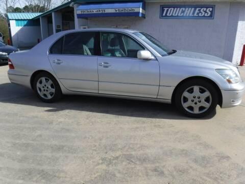 2004 Lexus LS 430 for sale at Wheel Tech Motor Vehicle Sales in Maylene AL