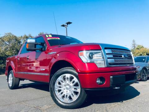 2013 Ford F-150 for sale at Alpha AutoSports in Roseville CA