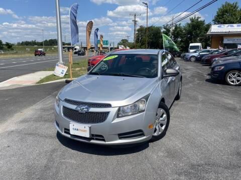 2013 Chevrolet Cruze for sale at CARMART Of New Castle in New Castle DE