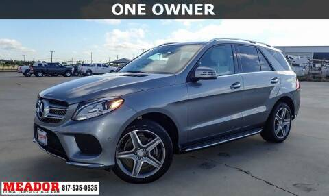 2016 Mercedes-Benz GLE for sale at Meador Dodge Chrysler Jeep RAM in Fort Worth TX