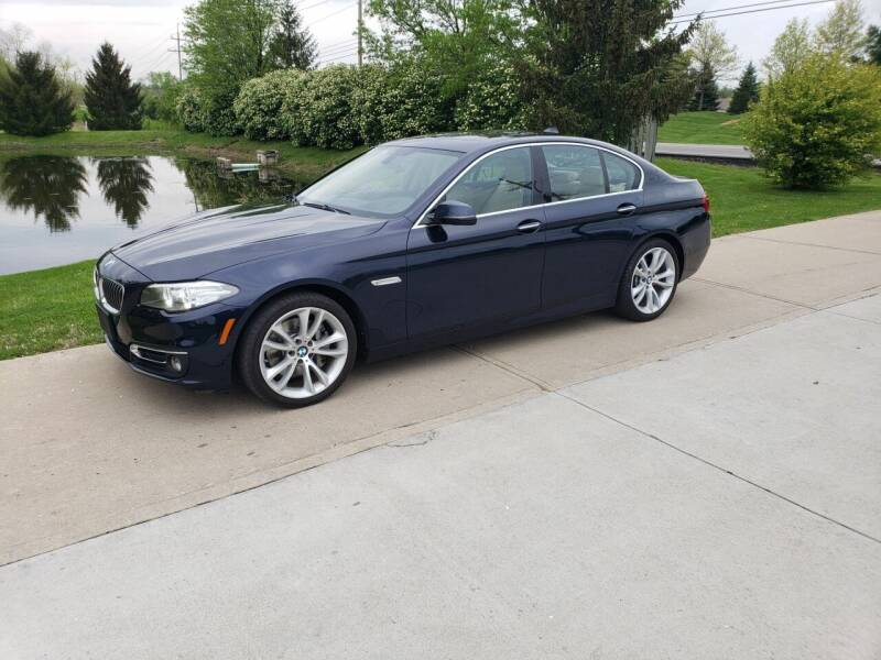 2016 BMW 5 Series for sale at Exclusive Automotive in West Chester OH