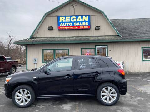2012 Mitsubishi Outlander Sport for sale at Mark Regan Auto Sales in Oswego NY
