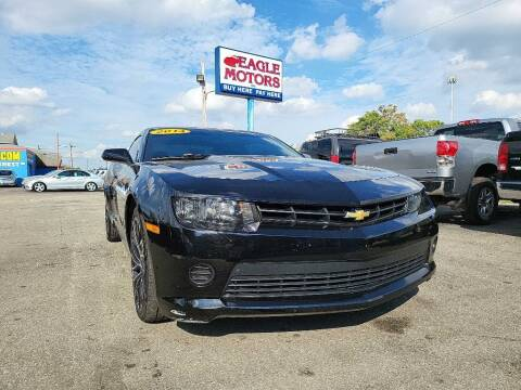 2014 Chevrolet Camaro for sale at Eagle Motors in Hamilton OH