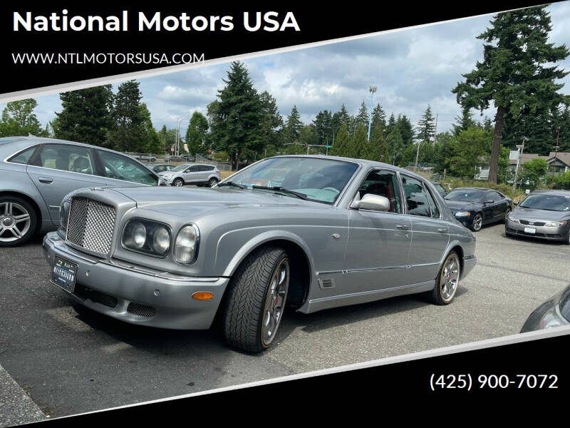 2001 Bentley Arnage for sale in Federal Way, WA