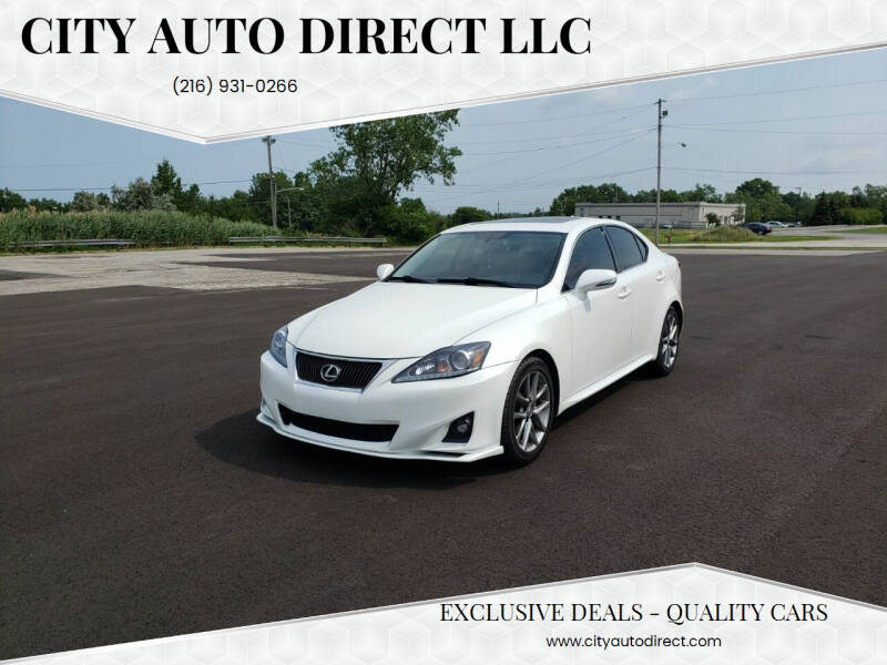 2013 Lexus IS 250 for sale at City Auto Direct LLC in Cleveland OH
