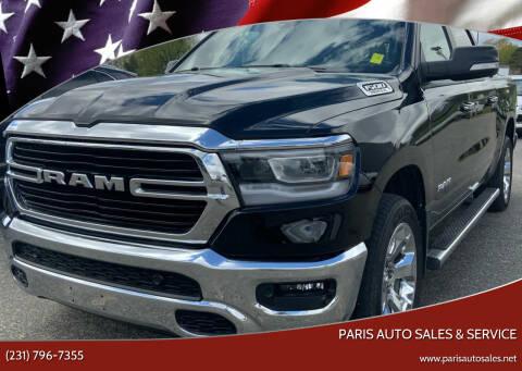 2019 RAM Ram Pickup 1500 for sale at Paris Auto Sales & Service in Big Rapids MI