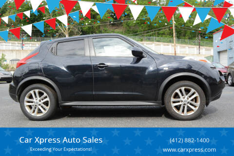 2012 Nissan JUKE for sale at Car Xpress Auto Sales in Pittsburgh PA