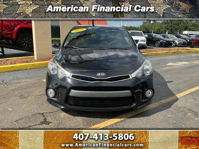2016 Kia Forte Koup for sale at American Financial Cars in Orlando FL