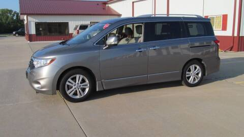 2012 Nissan Quest for sale at New Horizons Auto Center in Council Bluffs IA