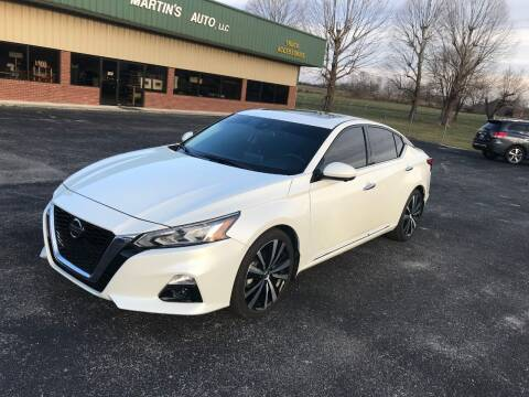 2019 Nissan Altima for sale at Martin's Auto in London KY