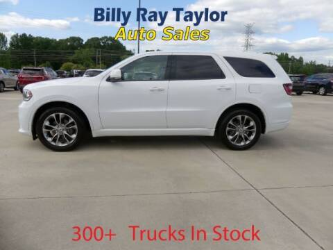 2019 Dodge Durango for sale at Billy Ray Taylor Auto Sales in Cullman AL
