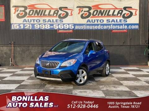 2015 Buick Encore for sale at Bonillas Auto Sales in Austin TX