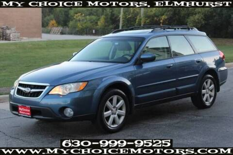 2008 Subaru Outback for sale at My Choice Motors Elmhurst in Elmhurst IL