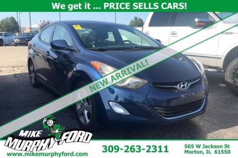 2013 Hyundai Elantra for sale at Mike Murphy Ford in Morton IL