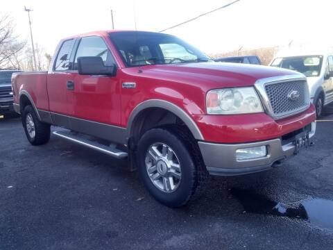 2004 Ford F-150 for sale at Wilson Investments LLC in Ewing NJ