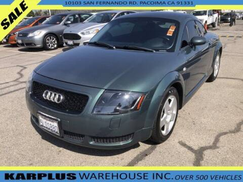 2000 Audi TT for sale at Karplus Warehouse in Pacoima CA