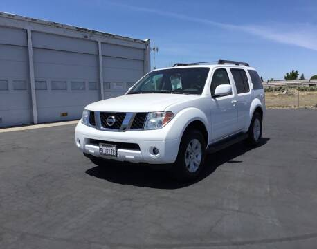 2005 Nissan Pathfinder for sale at My Three Sons Auto Sales in Sacramento CA