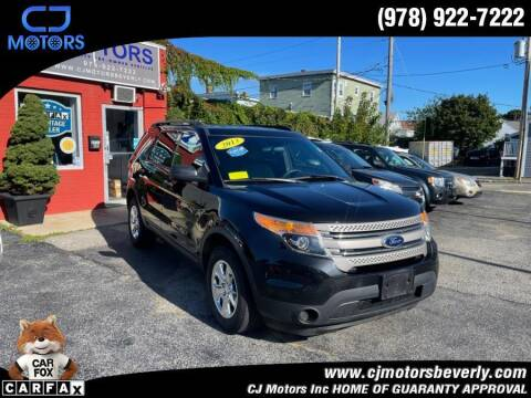 2013 Ford Explorer for sale at CJ Motors Inc. in Beverly MA