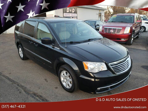 2013 Chrysler Town and Country for sale at D & D Auto Sales Of Onsted in Onsted   Brooklyn MI