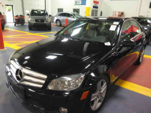 2010 Mercedes-Benz C-Class for sale at Advanced Auto Sales in Tewksbury MA