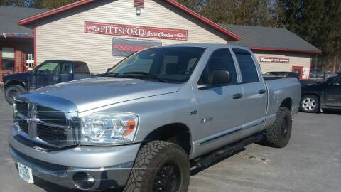 2008 Dodge Ram Pickup 1500 for sale at Pittsford Automotive Center in Pittsford VT
