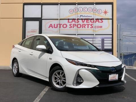 2017 Toyota Prius Prime for sale at Las Vegas Auto Sports in Las Vegas NV