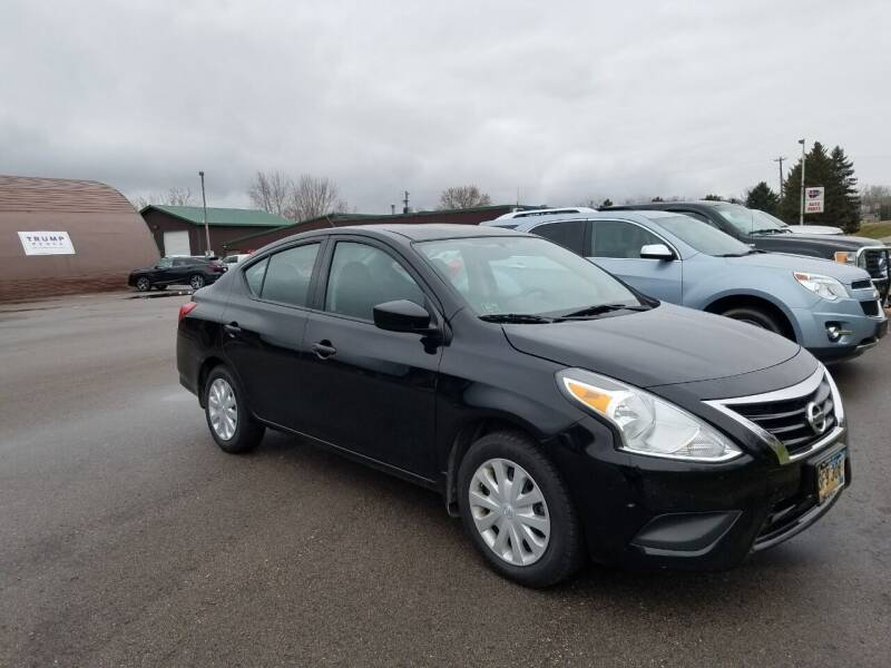 2016 Nissan Versa for sale at Pro Auto Sales and Service in Ortonville MN