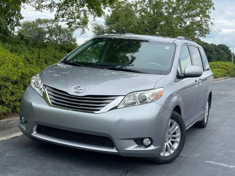 2011 Toyota Sienna for sale at William D Auto Sales in Norcross GA
