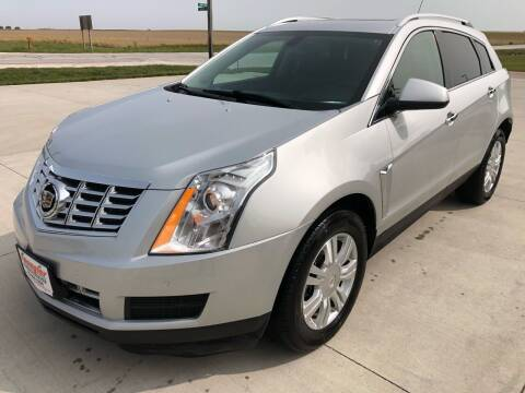 2014 Cadillac SRX for sale at SPANGLER AUTOMOTIVE in Glidden IA