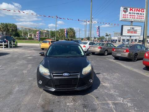 2012 Ford Focus for sale at King Auto Deals in Longwood FL