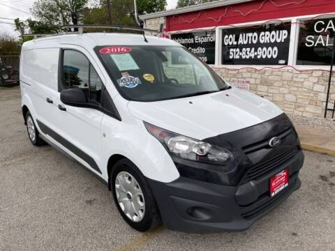 2016 Ford Transit Connect Cargo for sale at GOL Auto Group in Austin TX