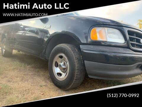 2003 Ford F-150 for sale at Hatimi Auto LLC in Buda TX
