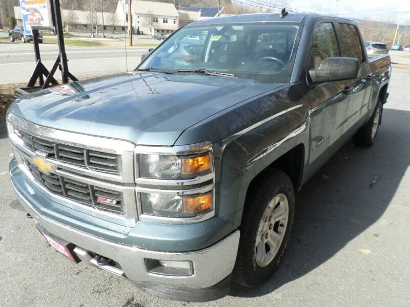 2014 Chevrolet Silverado 1500 for sale at AUTO CONNECTION LLC in Springfield VT