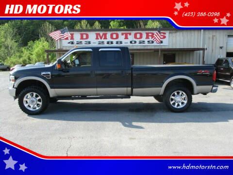 2008 Ford F-350 Super Duty for sale at HD MOTORS in Kingsport TN