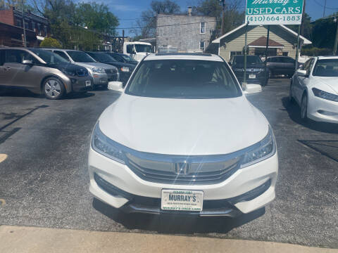 2016 Honda Accord for sale at Murrays Used Cars in Baltimore MD