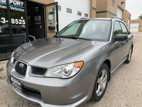2007 Subaru Impreza for sale at REDA AUTO PORT INC in Villa Park IL