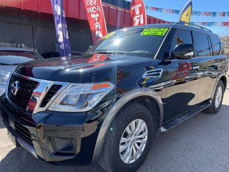 2019 Nissan Armada for sale at Duke City Auto LLC in Gallup NM