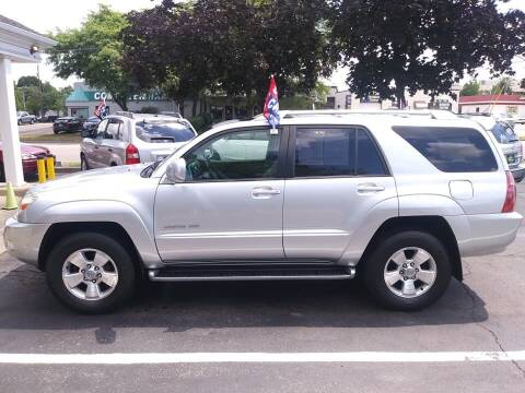 2003 Toyota 4Runner for sale at Oak Hill Auto Sales of Wooster, LLC in Wooster OH