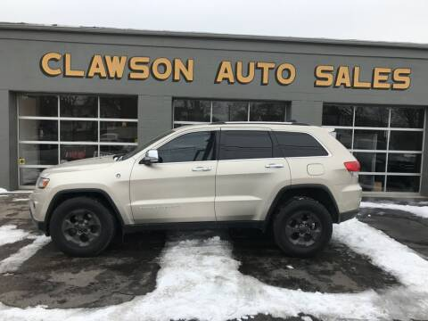 2014 Jeep Grand Cherokee for sale at Clawson Auto Sales in Clawson MI