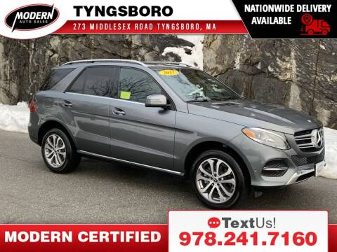 2017 Mercedes-Benz GLE for sale at Modern Auto Sales in Tyngsboro MA