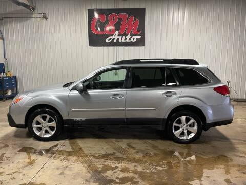 2013 Subaru Outback for sale at C&M Auto in Worthing SD