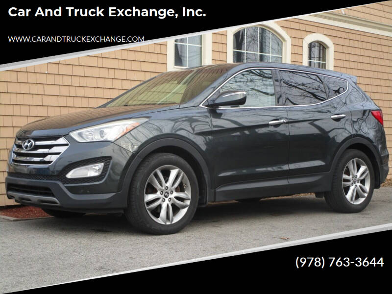 2013 Hyundai Santa Fe Sport for sale at Car and Truck Exchange, Inc. in Rowley MA