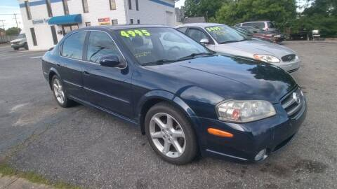 2002 Nissan Maxima for sale at IMPORT MOTORSPORTS in Hickory NC